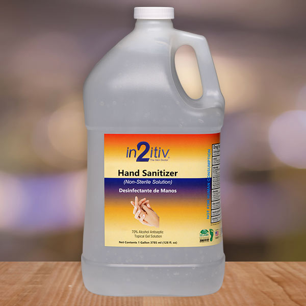 in2itiv® Topical Hand Sanitizer I gallon - Available in Liquid or Gel